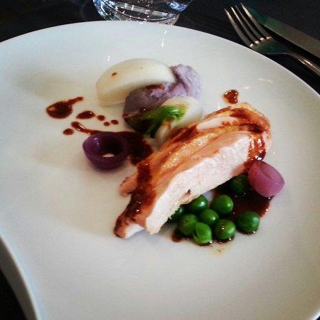 Aromatique Restaurant : Plat du menu du marché