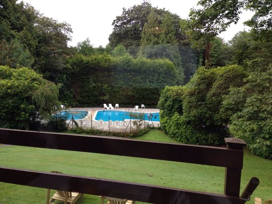 Lanteglos Country House Hotel: View whilst having breakfast