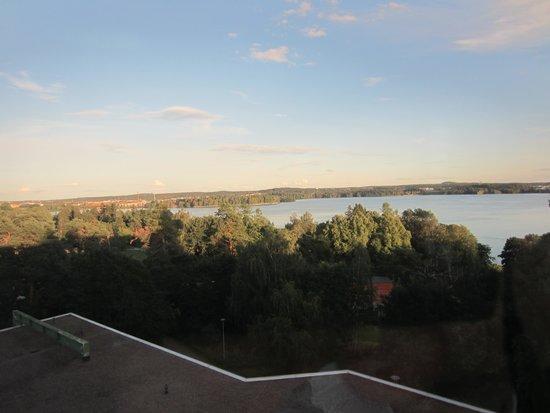 Scandic Rosendahl: View from room window
