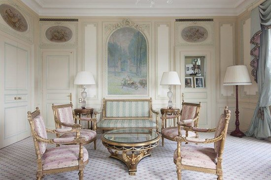 Hotel Beau-Rivage Geneva: Suite Patiala