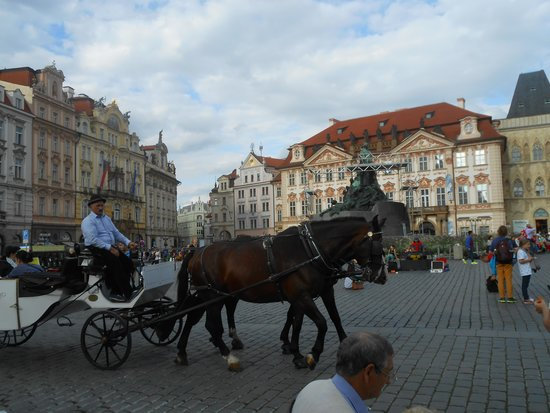 Old Town Square : incantevole