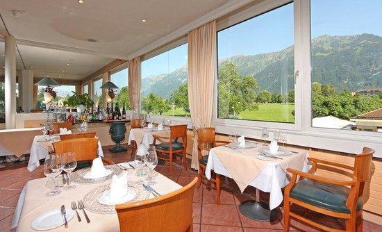 Metropole Hotel Interlaken: Restaurant