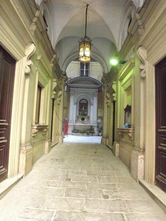 Hotel Galatea : ENTRADA