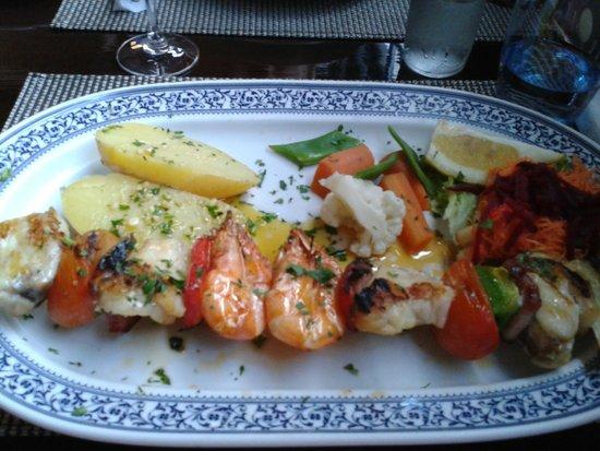 Ambrosia & Nectar: Шашлычки из морепродуктов