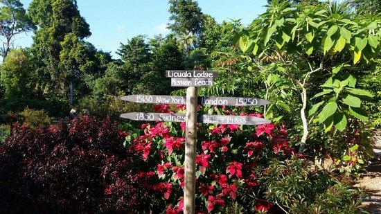 Licuala Lodge: Sign