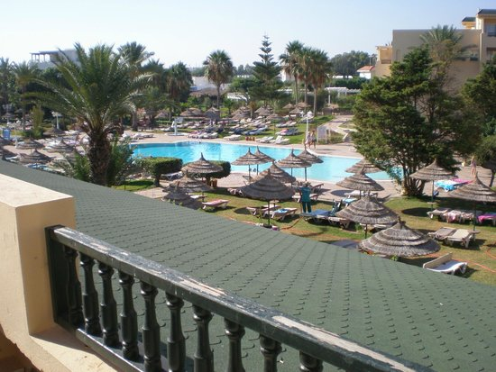 Royal Kenz Hotel: View from room 1002