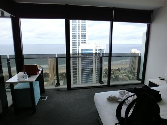 Mantra Circle on Cavill: view from bedroom