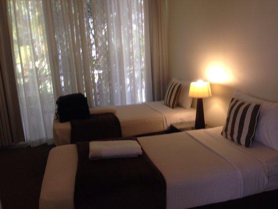 Noosa Tropicana: 2nd bedroom of apartment 7