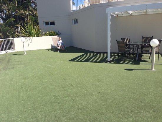 Noosa Tropicana: Private roof top terrace