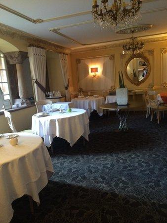 Hostellerie de la Pommeraie : Breakfast room