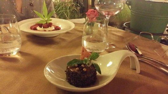 Restaurant Vincent Croizard : desserts