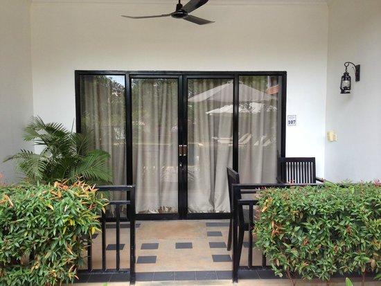 Kiri Boutique Hotel: Room balcony