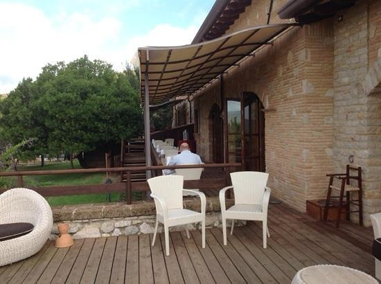 SarAnd Relais: il patio