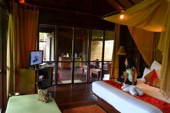 Zeavola Resort : Interior of Garden Suite