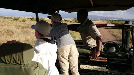 Tortilis Camp: Safari time with Alex