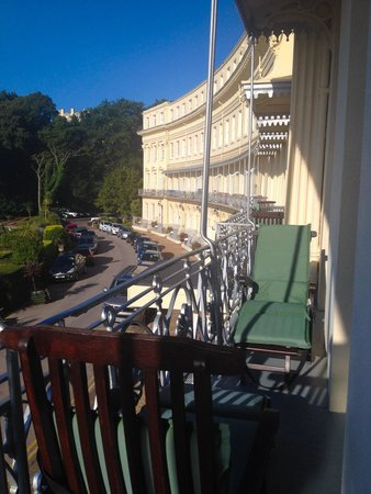 The Osborne Hotel: Balcony