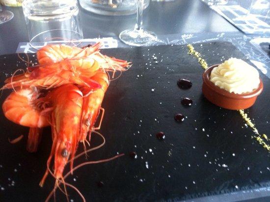 Chez Biquet: Crevettes bio
