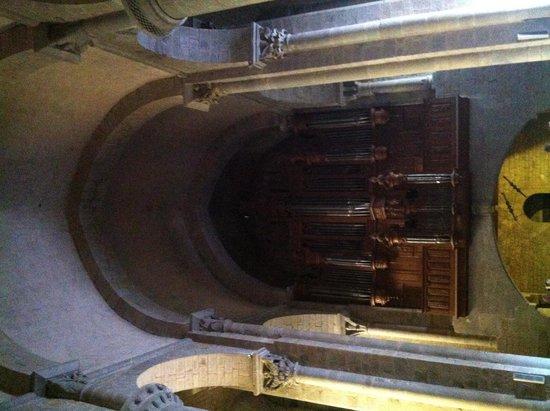 Église Saint-Nazaire : Órgano midi frances