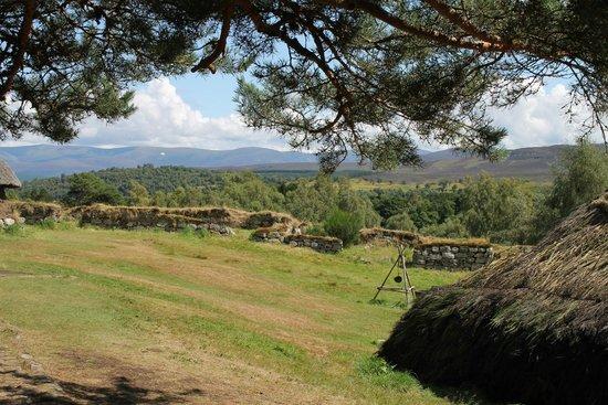 Highland Folk Museum: 1700s township