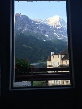 Hotel Kreuz & Post: View from inside the room