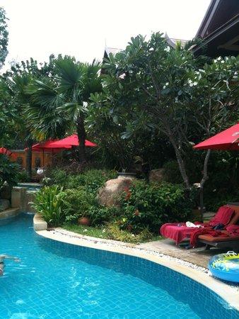 Rocky's Boutique Resort: Der obere Pool, 3 Wochen im Juli fast für uns alleine
