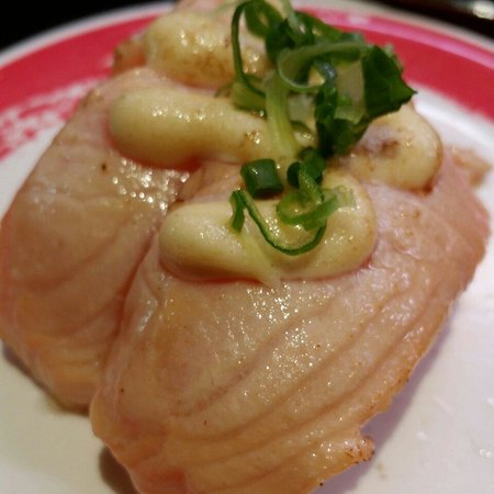 Genki Sushi Hawaii Incorporated: Garlic salmon