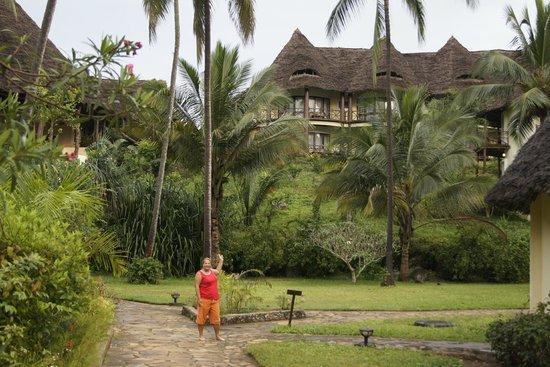 Ocean Paradise Resort & Spa : Вид на двухэтажные бунгало