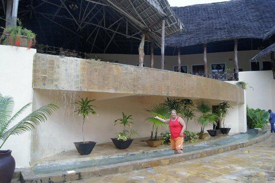Ocean Paradise Resort & Spa : Водопад возле ресепшен