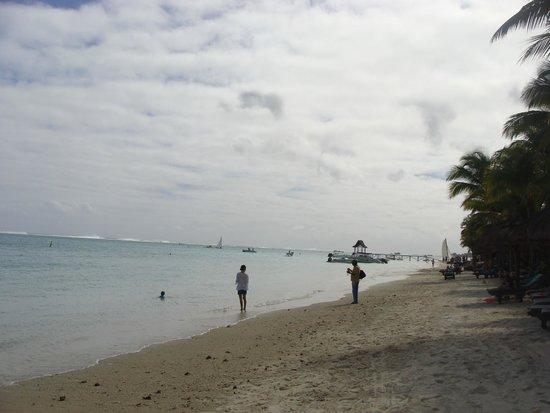 Trou aux Biches Beachcomber Golf Resort & Spa: Plage Trou aux Biches Resort & Spa
