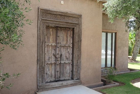 Hotel Les Cinq Djellabas : Puerta