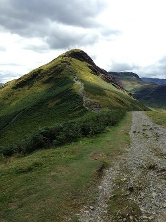 Catbells Lakeland Walk: The summit