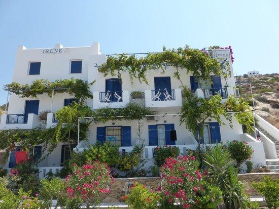 Irene Hotel : La façade de l'hôtel