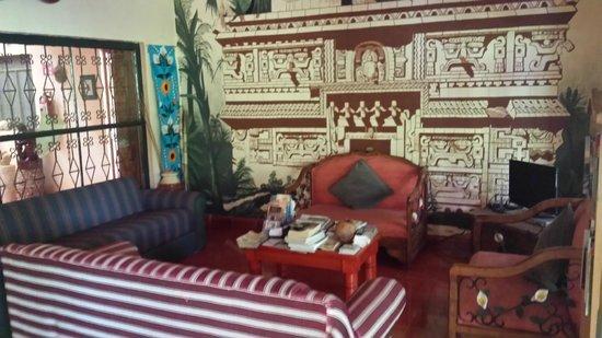 Casa Hamaca Guesthouse : Intérieur de la villa