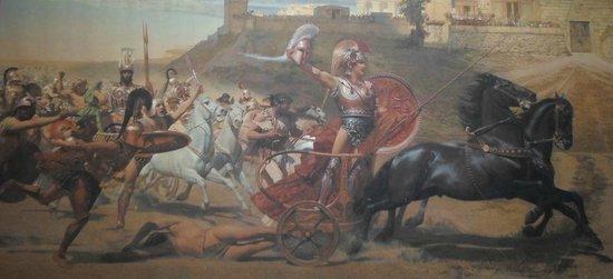 Sissi's Palace (Achilleon): Achille trionfa su Ettore