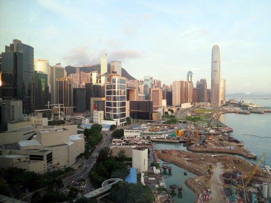 Grand Hyatt Hong Kong: 部屋からの景色