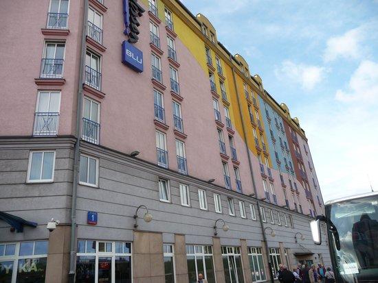 Radisson Blu Sobieski Hotel Warsaw: vista dell'hotel