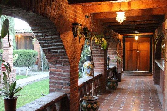 Hotel Hacienda Cuitlahuac: Vue de l'hacienda