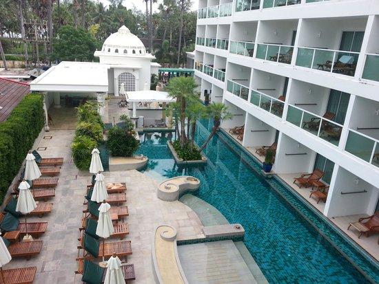 Chanalai Romantica Resort : Day view from Balcony