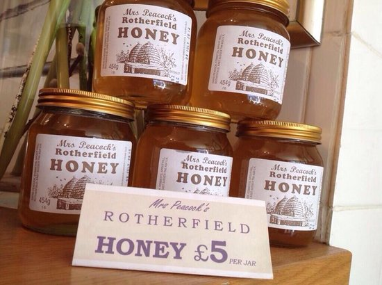Tiffin: Local honey for sale