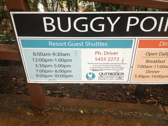 Peppers Noosa Resort and Villas : Buggy Times