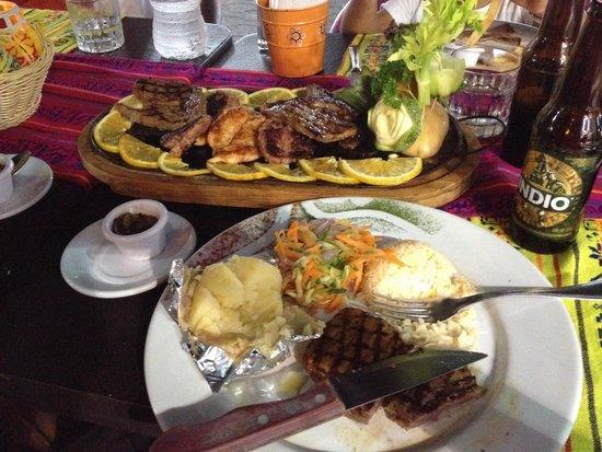La Vagabunda: Piatto di carne per 2! Agosto 2014