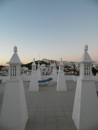 Hotel Vila Recife : View from the terrace.