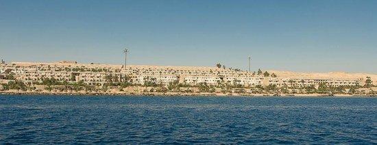Citadel Azur Resort: Vue de l'hôtel