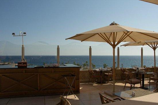 Citadel Azur Resort: Vu du restaurant