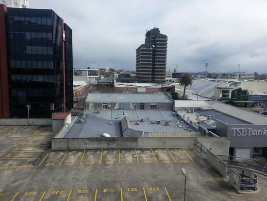 Ibis Hamilton Tainui: View from our room