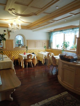 Piccolo Hotel Claudia: sala colazione cena