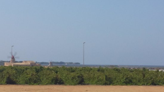 Isola di Mozia (Mothia)/ San Pantaleo: vista d'ingresso nell'area