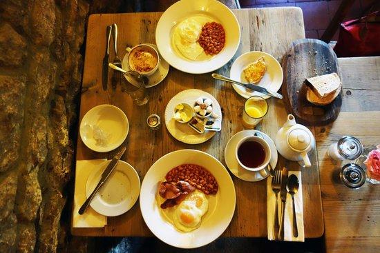 Falkland Arms: Fullständig engelsk frukost