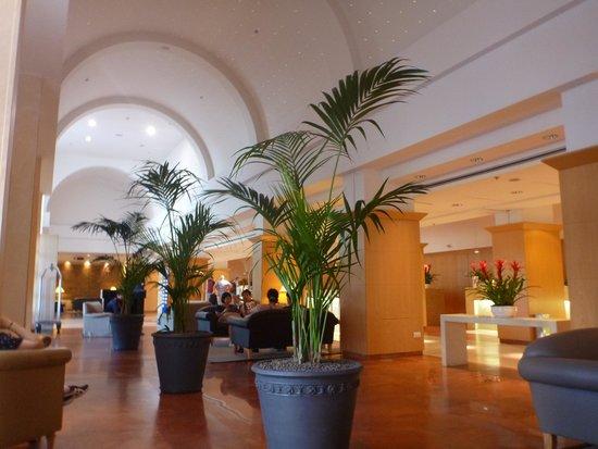 Hilton Rome Airport Hotel: フロント