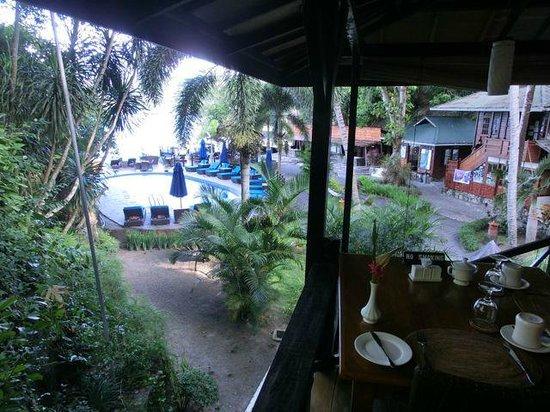 Lembeh Resort: View from restaurant